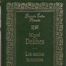 Libros de segunda mano: * NOVELA * LOS SANTOS INOCENTES / MIGUEL DELIBES. Lote 19852422