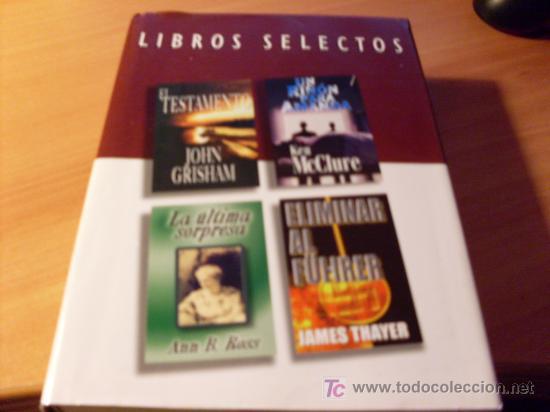 Libros selectos el testamento eliminar al f comprar - Amanda maison segunda mano ...