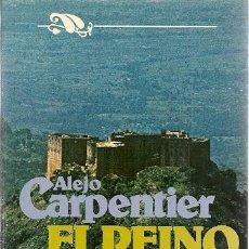 Libros de segunda mano: * NOVELA * EL REINO DE ESTE MUNDO / ALEJO CARPENTIER. Lote 19952218