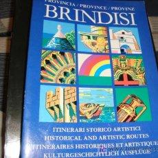 Libros de segunda mano: BRINDISI, ITINERARI STORICO ARTISTICI. Lote 14092368