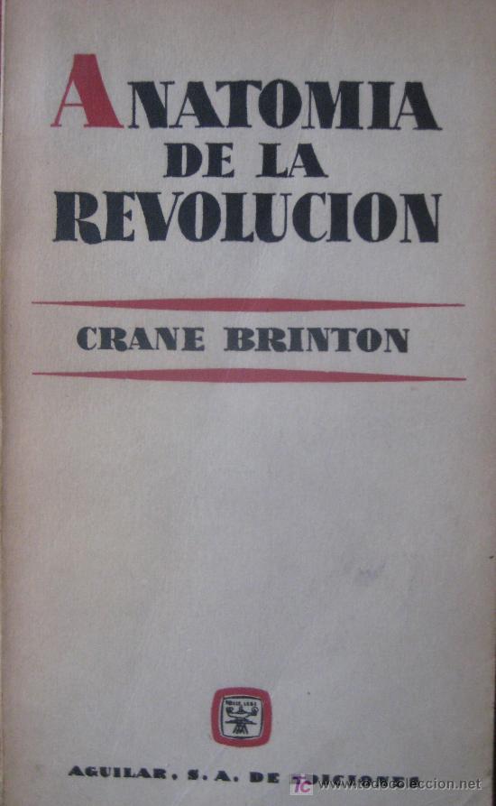 crane brinton. anatomia de la revolucion. fondo - Comprar en ...