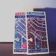 Libros de segunda mano: AMSTERDAM(GUÍAS DOS TOMOS);LA VANGUARDIA 1989. Lote 14212839