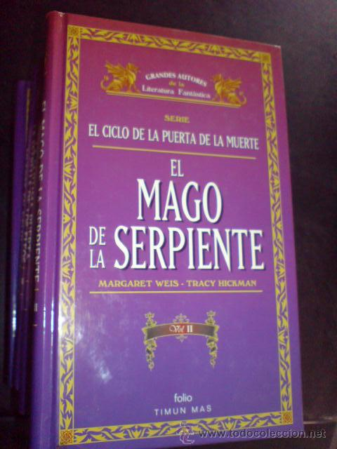 FANTASIA GRANDES AUTORES LA LITERATURA FANTASTICA PUERTA DE LA MUERTE MAGO DE LA SERPIENTE VOL II (Libros de Segunda Mano (posteriores a 1936) - Literatura - Otros)