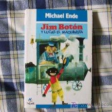 Libros de segunda mano: JIM BOTON Y LUCAS EL MAQUINISTA ( POR MICHAEL ENDE ) NOGUER 1988 ¡BUEN ESTADO!. Lote 21085469