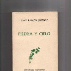 Libros de segunda mano: PIEDRA Y CIELO - JUAN R. JIMENEZ - ED. TAURUS - AÑO 1981. Lote 14339849