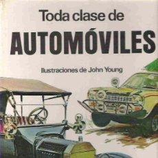 Libros de segunda mano: COLECCION GRANDES LIBROS EN COLOR - TODA CLASE DE AUTOMOVILES - JOHN YOUNG - EDI MOLINO 1973. Lote 16276283