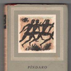 Libros de segunda mano: HIMNOS TRIUNFALES POR PINDARO. EDITORIAL IBERIA OBRAS MAESTRAS. BARCELONA 1968. Lote 20264530