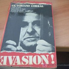 Libros de segunda mano: EVASION ( VICTORIANO CORRAL ) 1ª EDICION 1974. Lote 14529251