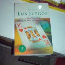 Libros de segunda mano: PLANETA TODOS LOS JUEGOS DEL MUNDO PLANETA MUY BUENO. Lote 14546160