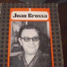 Libros de segunda mano: VIVARIUM, DE JOAN BROSSA. 1ª EDICION, 1972. Lote 14582439