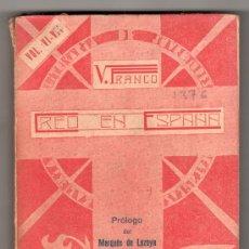 Libros de segunda mano: ! CREO EN ESPAÑA ! POR VICENTE FRANCO VOL VI VII. GALERIA LITERARIA DE JUVENTUDES CATOLICAS. MADRID. Lote 24099910