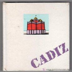 Libros de segunda mano: AGENDA PERSONAL DE CADIZ CON INFORMACION DE LA CIUDAD Y LAMINAS FOTOGRAFICAS DE CADIZ SIN USAR. Lote 16947270