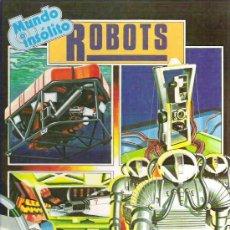 Libros de segunda mano: MUNDO INSOLITO - ROBOTS ESPASA CALPE *** ESTILO PLESA 1983. Lote 15500513