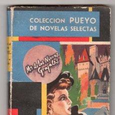 Libros de segunda mano: COLECCION PUEYO DE NOVELAS SELECTAS. NIDO DE AGUILAS POR Mª NIEVES GRAJALES. MADRID 1946. Lote 14661257