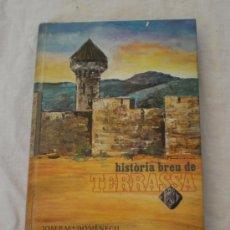 Libros de segunda mano: HISTÒRIA DE TERRASSA · JOSEP M. DOMÈNECH. Lote 14695769