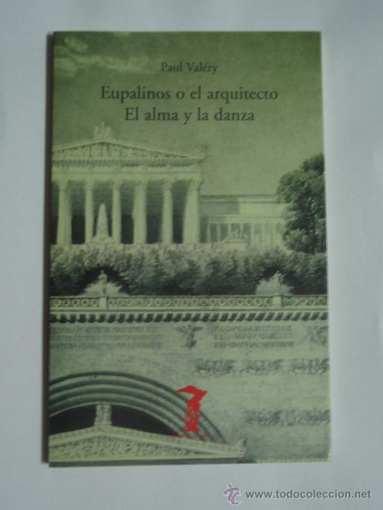 libro eupalinos o el arquitecto