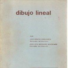 Libros de segunda mano: DIBUJO LINEAL (MADRID, 1967). Lote 25414808