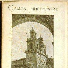 Libros de segunda mano: GUÍA DE OSERA. GALICIA MONUMENTAL - 1960. Lote 18327197