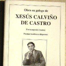 Libros de segunda mano: OBRA EN GALEGO DE XESÚS CALVIÑO DE CASTRO - CONCELLO DE BETANZOS.. Lote 22594772
