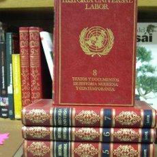 Libros de segunda mano: HISTORIA UNIVERSAL LABOR · 8 TOMOS. Lote 2143169