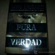 Libros de segunda mano: DAVID BALDACCI - PURA VERDAD - TAPA DURA CON SOBRECUBIERTA . Lote 26941415