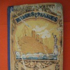 Libros de segunda mano: PAISES Y MARES TERCER MANUSCRITO 1943 AÑOS 40 LIBRO ESCOLAR. Lote 27211673