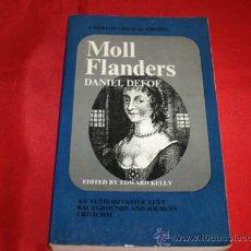 Libros de segunda mano: MOLL FLANDERS. DANIEL DEFOE. EDITED BY EDWARD KELLY. Lote 23170783