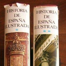 Libros de segunda mano: HISTORIA DE ESPAÑA ILUSTRADA SOPENA - 2 TOMOS - DIRECCION DE JUAN REGLA - ILUSTRADA. Lote 27159963