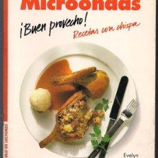 Livros em segunda mão: EVELYN LIEPOLD: MICROONDAS. ¡BUEN PROVECHO! RECETAS CON CHISPA . Lote 15070664