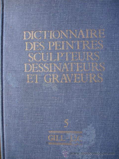 BENEZIT.DICTIONNAIRE DES PEINTRES SCULPTEURS DESSINATEURS ET GRAVEURS.1976.TOMO 5.GILL-JAC.790 PG (Libros de Segunda Mano - Bellas artes, ocio y coleccionismo - Otros)
