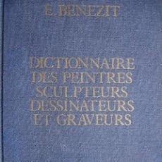 Libros de segunda mano: BENEZIT.DICTIONNAIRE DES PEINTRES SCULPTEURS DESSINATEURS ET GRAVEURS.1976.TOMO 6.JAC-LOY.760 PG. Lote 22937202