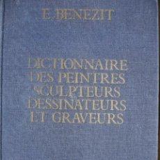 Libros de segunda mano: BENEZIT.DICTIONNAIRE DES PEINTRES SCULPTEURS DESSINATEURS ET GRAVEURS.1976.TOMO 7.LOY-OKA.792 PG. Lote 22937205
