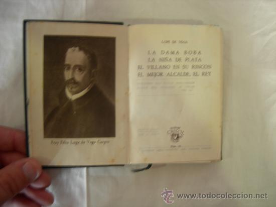 CUATRO OBRAS TEATRALES (LOPE DE VEGA) CRISOL NÚM 32 -1ª EDICION 1944 - ED. AGUILAR (Libros de Segunda Mano (posteriores a 1936) - Literatura - Otros)