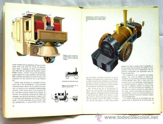Libros de segunda mano: Los medios de locomoción Francisco Pérez Manuel García Col Descubrir y conocer Mas Ivars Ed 1973 - Foto 4 - 15193125