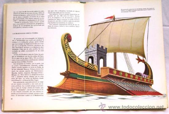 Libros de segunda mano: Los medios de locomoción Francisco Pérez Manuel García Col Descubrir y conocer Mas Ivars Ed 1973 - Foto 5 - 15193125