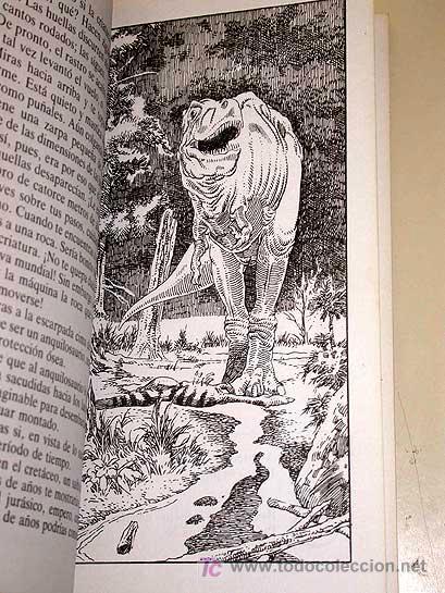 Libros de segunda mano: LA MAQUINA DEL TIEMPO Nº 2 AL ENCUENTRO DE LOS DINOSAURIOS. BISCHOFF, NIÑO. LIBRO JUEGO TIMUN MAS ++ - Foto 2 - 206961928