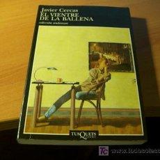 Livros em segunda mão: EL VIENTRE DE LA BALLENA ( JAVIER CERDAS ) PRIMERA EDICION (LB39). Lote 15365006