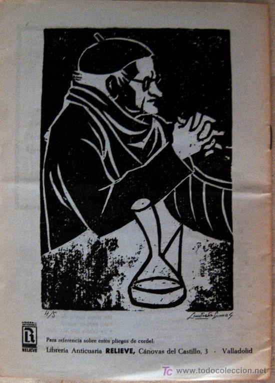 Libros de segunda mano: VALLADOLID. LIBRERÍA RELIEVE. PLIEGOS DE CORDEL VALLISOLETANOS. ALEJANDRO ALONSO - Foto 3 - 53276684
