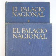 Libros de segunda mano: COLECCION EL MUEBLE EN ESPAÑA. EL PALACIO NACIONAL. . 2 TOMOS. 1949. AFRODISIO AGUADO. MUY ILUST. Lote 15368506