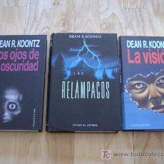 Libros de segunda mano: PACK DEAN R. KOONTZ - TRES LIBROS - CIRCULO DE LECTORES - *LIBROS JARIEGO* LOTE. Lote 26542797