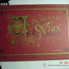 Libros de segunda mano: 1435 VIENA WIEN AUSTRIA AUTRICHE FACSIMIL LIBRO FOTOGRAFICO AÑO 1979 MAS EN MI TIENDA. Lote 24486169