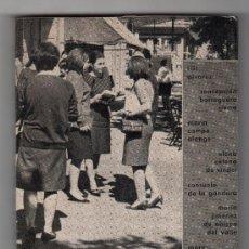 Libros de segunda mano: HABLA LA MUJER. RESULTADO DE UN SONDEO EN LA JUVENTUSD ACTUAL. ED. CUADERNOS PARA EL DIALOGO. 1967. Lote 15383225