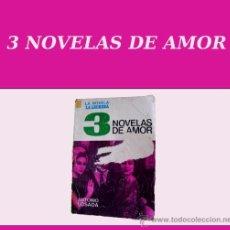 Libros de segunda mano: 3 NOVELAS DE AMOR - ANTONIO LOSADA - EDITORIAL CID 1965 . Lote 15393769