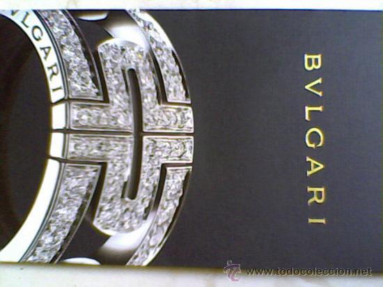 f341e7d92220 BULGARI JOYAS DE ORO ETC. LIBRO EXPOSITOR CATALO0GO (Libros de Segunda Mano  - Bellas ...