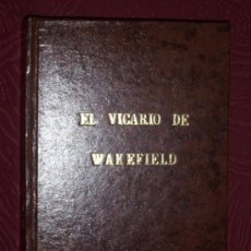 Libros de segunda mano: EL VICARIO DE WAKEFIELD POR OLIVERIO GOLDSMITH DE MAUCCI EN BARCELONA, SIN FECHAR (AÑOS 40). Lote 26695428