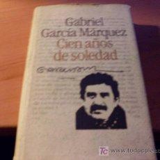 Libros de segunda mano: CIEN AÑOS DE SOLEDAD ( GABRIEL GARCIA MARQUEZ ). Lote 15439328