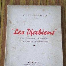 Libros de segunda mano: LES DIERBIENS 1941 .. GUÍA DE TÚNEZ . Lote 15441494