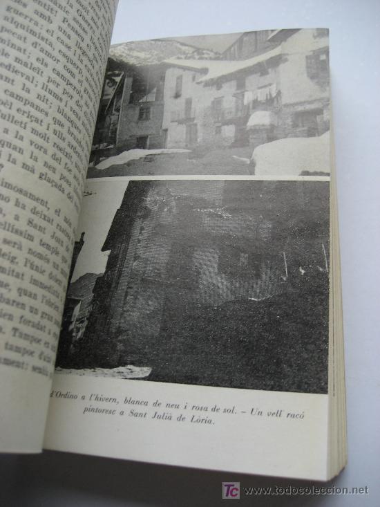 Libros de segunda mano: Andorra. Llibre D'Andorra. Historia - Paisatge. Lluís Capdevila. Editorial Selecta. Barcelona 1958 - Foto 5 - 27350191
