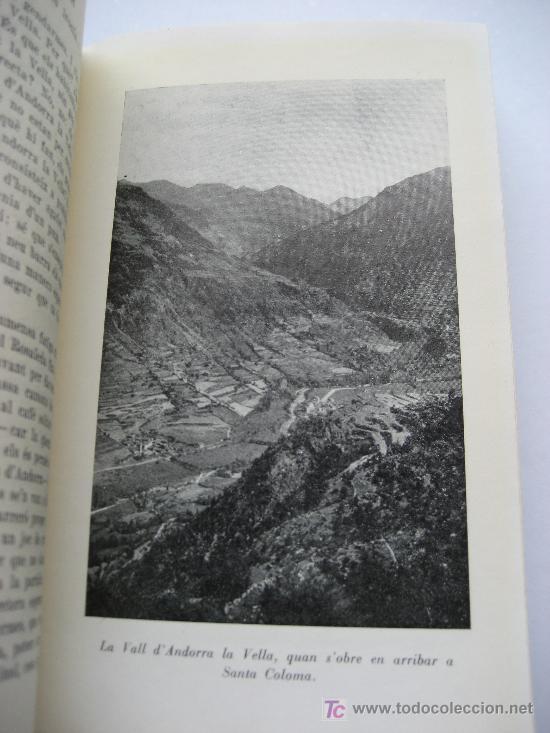 Libros de segunda mano: Andorra. Llibre D'Andorra. Historia - Paisatge. Lluís Capdevila. Editorial Selecta. Barcelona 1958 - Foto 4 - 27350191