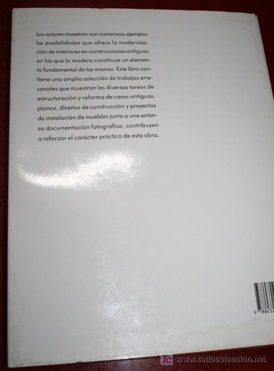 Libros de segunda mano: MODERNIZACIÓN DE INTERIORES - ELEONORE KNOBLOCH-LUTZ / LUDWING SCHUSTER - CEAC 1991 - Foto 6 - 25748572